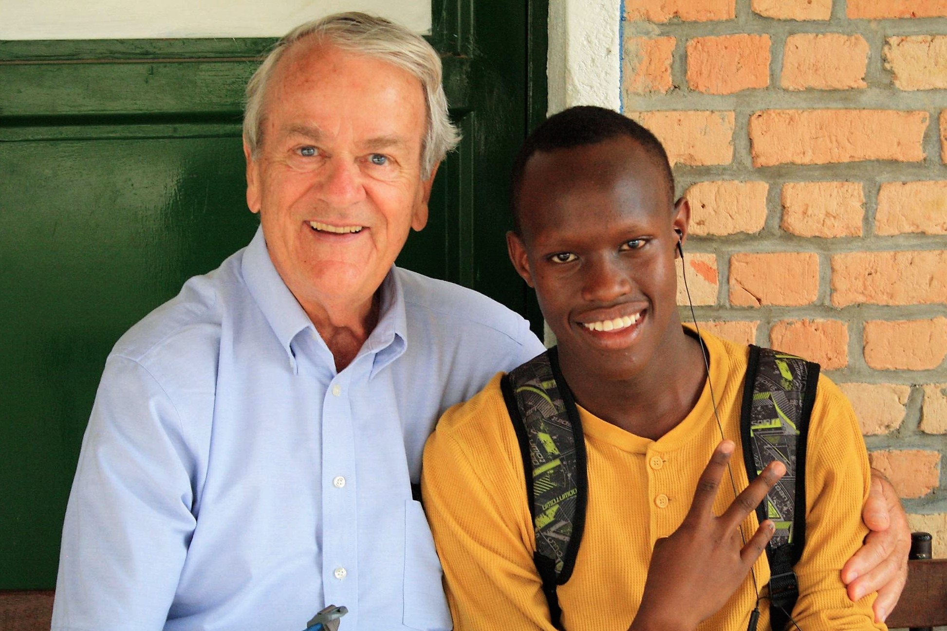 Board Member Teaches in Rwanda